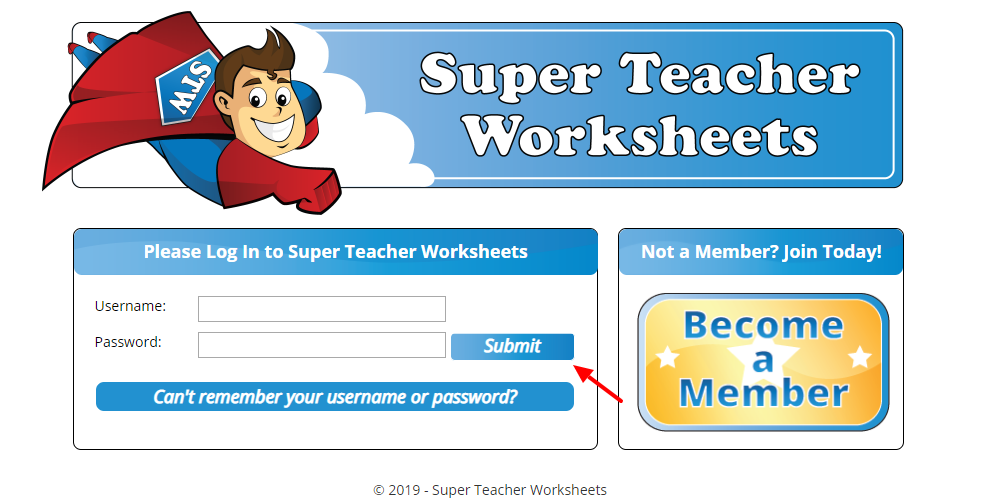 www superteacherworksheets com - How To Get The Membership