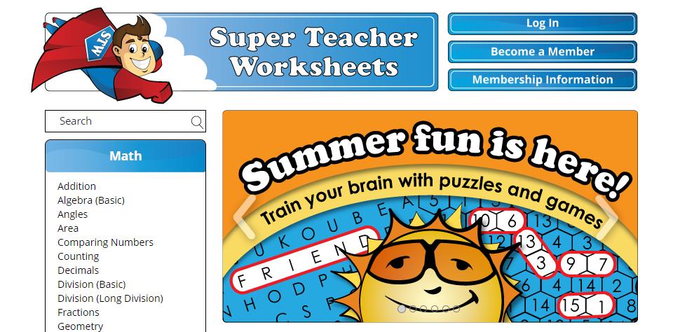 www.superteacherworksheets.com - How To Get The Membership ...