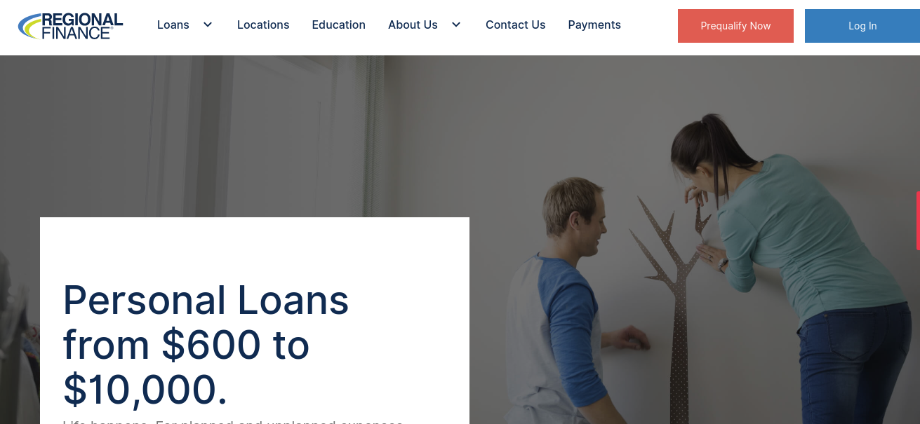 www.regionalfinance.com - Process To Prequalify For ...