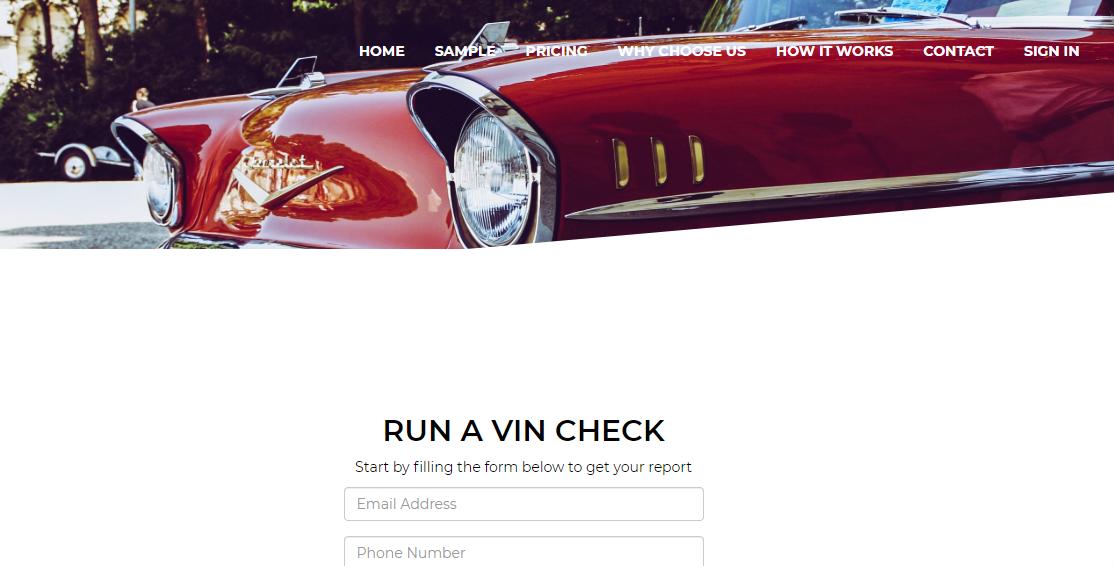 Auto Vehicle Registry Logo