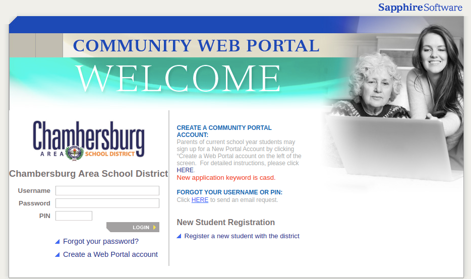 Sapphire Community Portal Logo