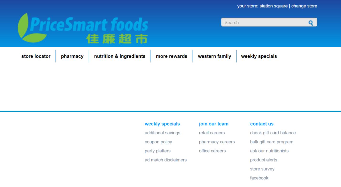 Pricesmart foods feedback