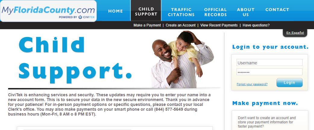 myfloridacounty child support logo