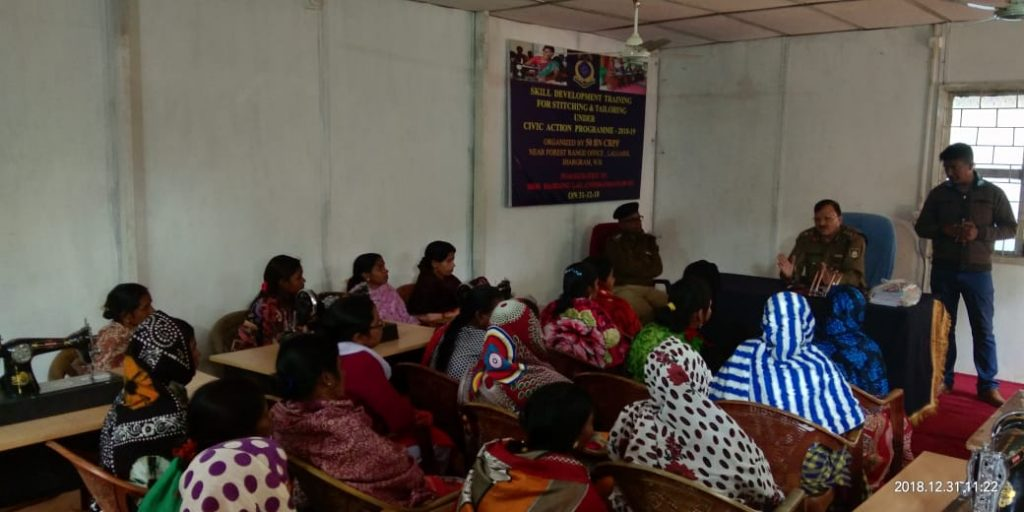 CRPF training for women