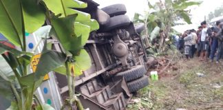 Bus Accident at Ghatal