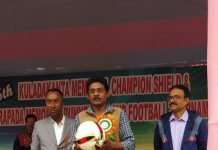 kuladananda memorial football tournament inaugurument a raiganj