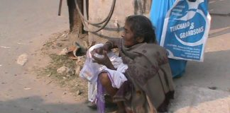 old women seeking shelter of police station   newsfront.co