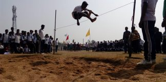 Annual Sports Festival of the country's highest school in Mawpaw