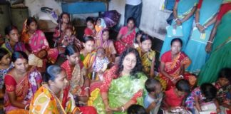 The approval of four anganwadi centre in Jhargram