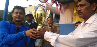 Volleyball Champion Rajnagar Youth Sporting Club at Ghatal festival | newsfront.co