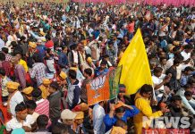 public meeting of bjp at malda