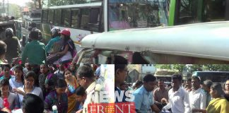 Hs candidates are suffered from road jam