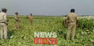 Police operation to stop poppy cultivation