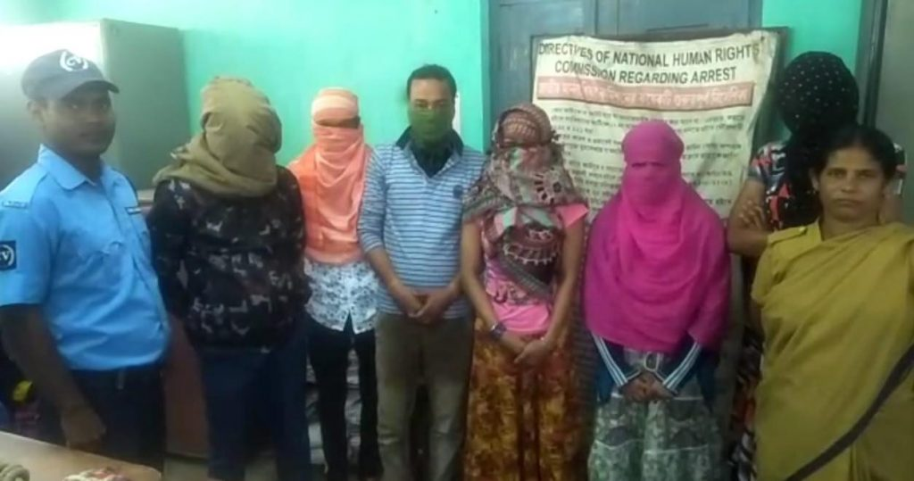 Six arrested for illegal body business
