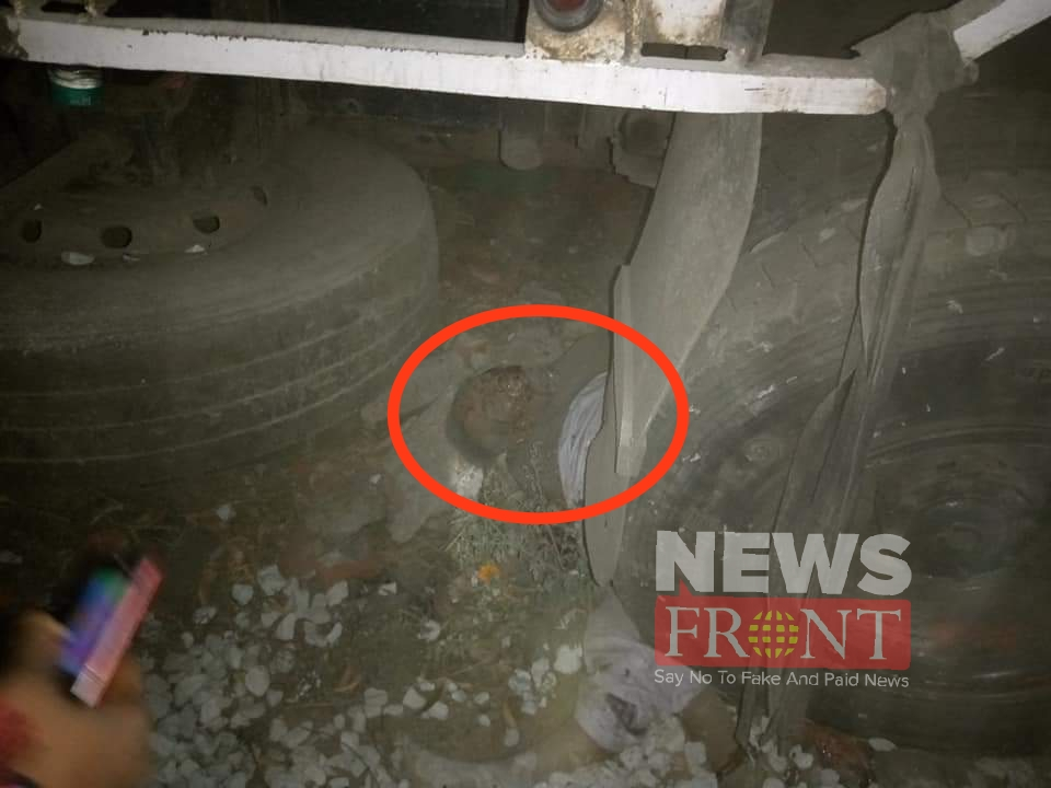 dead one at road accident in moldanga