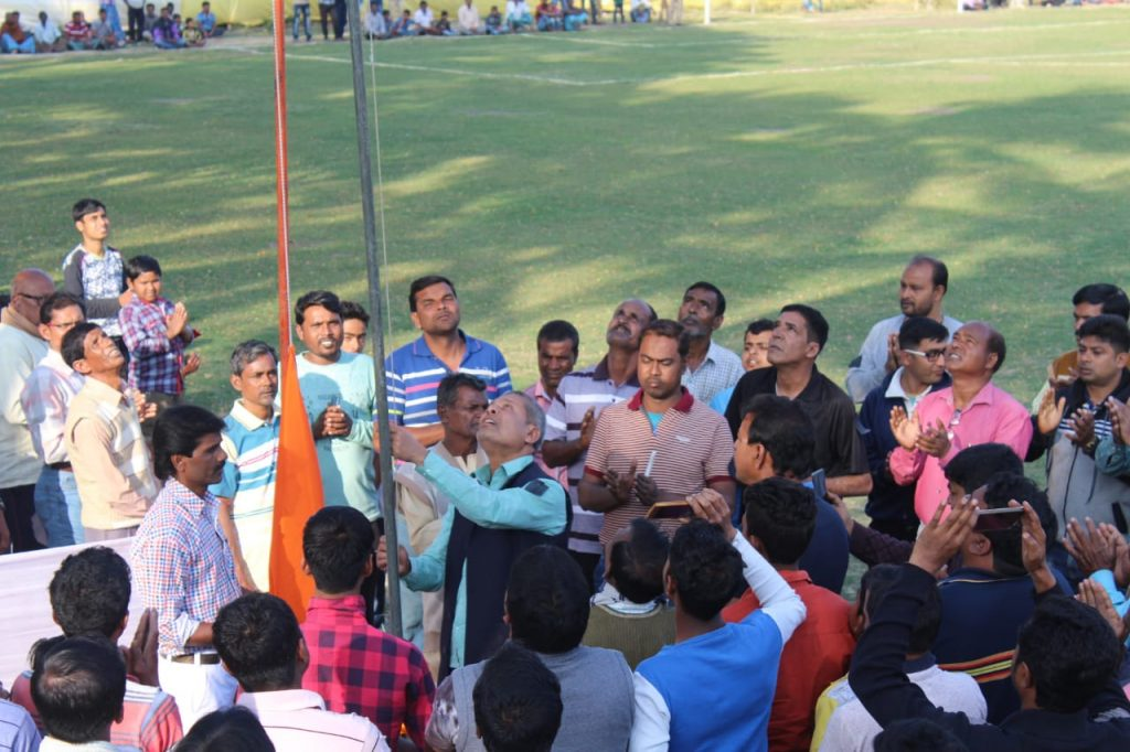 football tournament arrange for memories of CRPf army