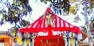 the Chinese mandap is in Baragachia