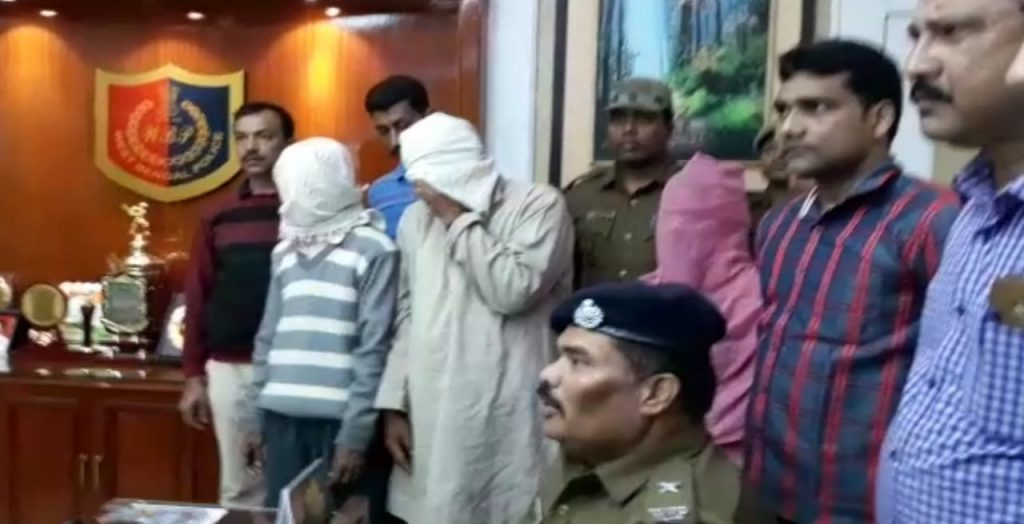 two arrested with fire gun at berhampore