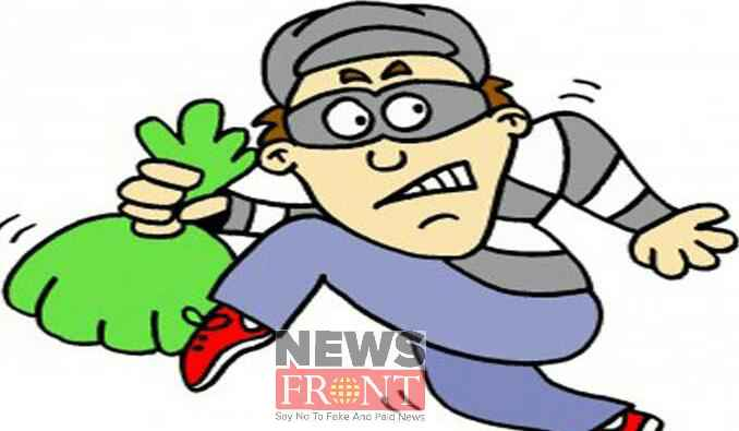 Antisocial snatching money by injured teenager