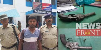 Arrested one with illegal firearms