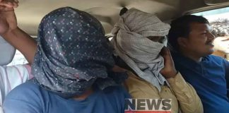Arrested two youth on charges of murdered police