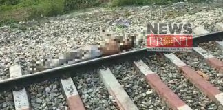 Death of One people at cut by train