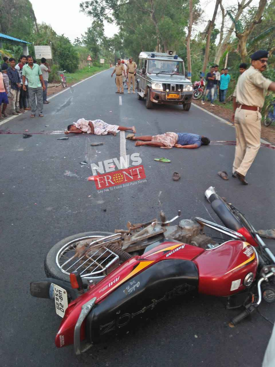 Death of two people at road accident
