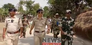 Route march of central forces at raiganj