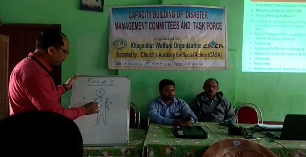 Teaching camp to deal with Disaster