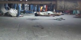 The Child dead on road accident