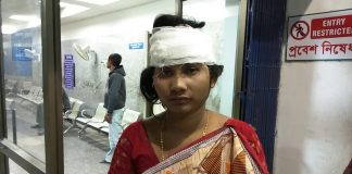 The complaint of housewife injured by husband
