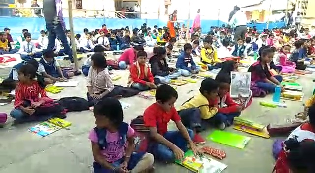 The drawing competition by North Bengal Development Department