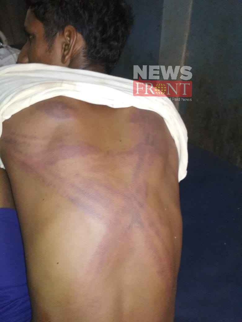 Accusation of assault bjp workers against tmc