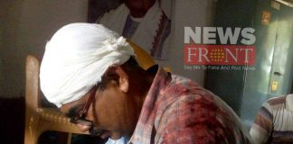 Accusation of attack on bjp candidate against tmc