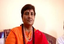 Again controversial comments by Pragya Singh Thakur