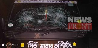 Allegation of Attack on bjp vehicle against tmc