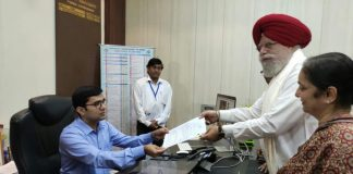 Alluwali submitted nomination paper