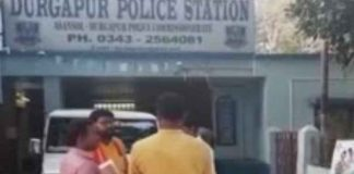 Arrested seven bjp workers at burdwan