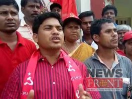 Attack on cpim candidate at sutahata