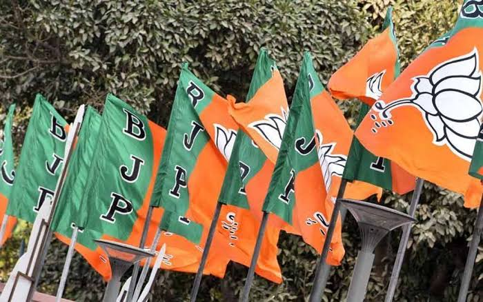 Bjp protect the election booth