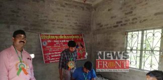 Blood donation camp at west medinipur