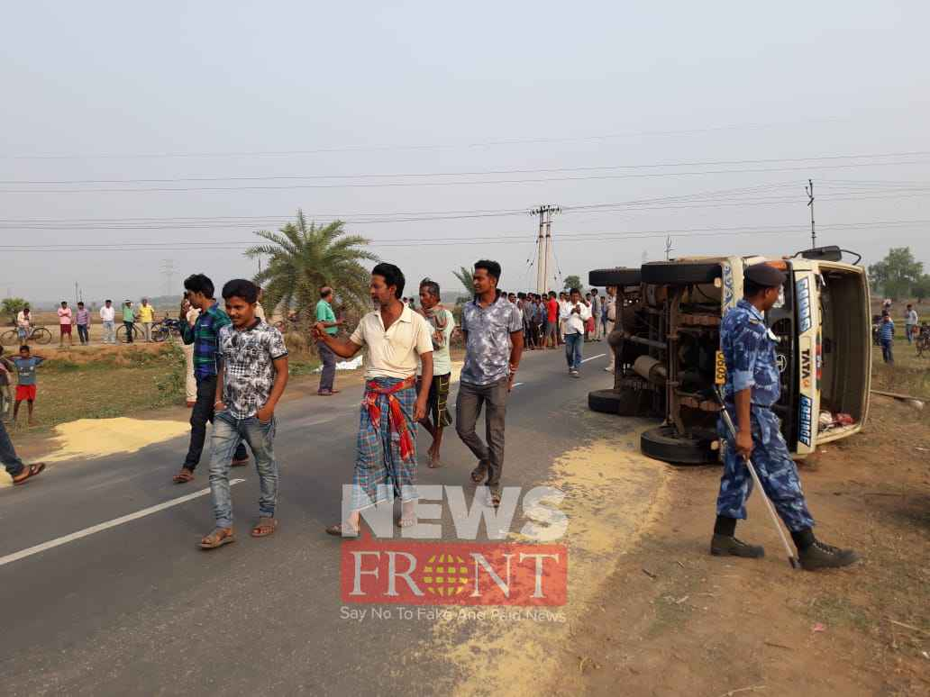 Dead one and injured one at road accident