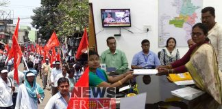 Debalina submitted nomination paper