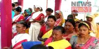 Mass marriages on the occasion sarhul occasion