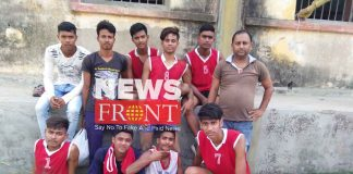 North dinajpur at final of inter district volleyball competition