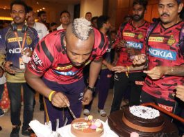Rasel celebrated birthday after match