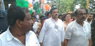 Road show in Malda city of Subhendu