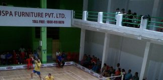 Senior badminton competition raiganj