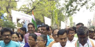 Submit nomination paper at burdwan