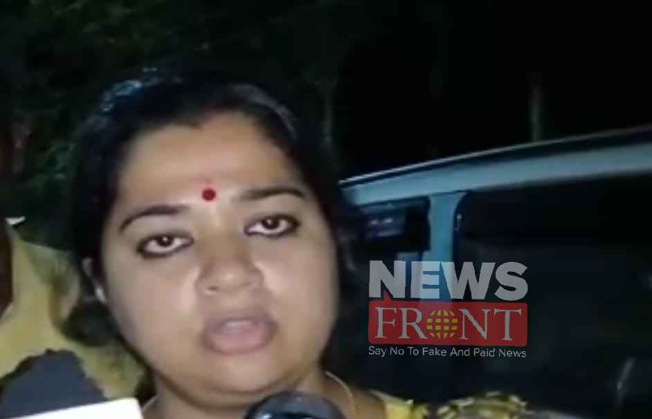 hooliganism Of bjp candidate at police station
